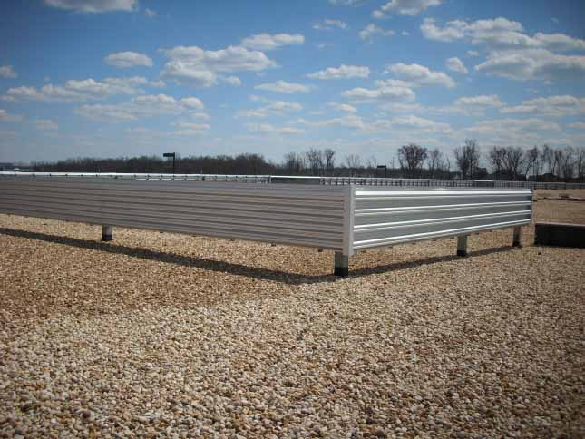 Roof Screen Wall : Roof screens and skylights — battlefield roofing